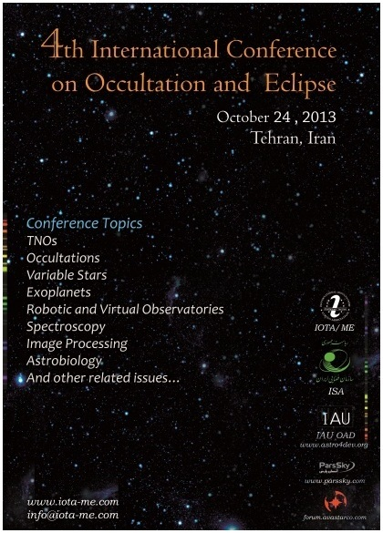 The 4th International Workshop on Occultation and Eclipse