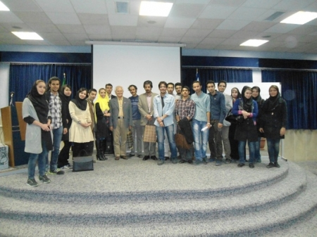 A Workshop held on Science and Research Branch of Tehran (2013)