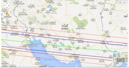 An Asteroid Occultation in Iran and other countries in Middle East