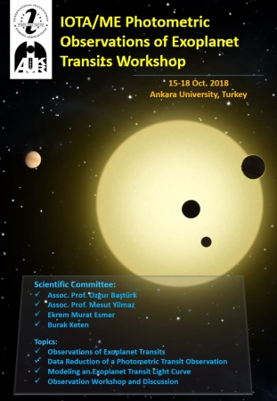 IOTA/ME Photometric Observations of Exoplanet Transits Workshop