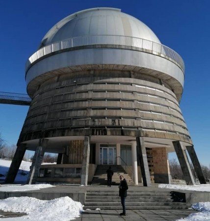 The IOTA/ME President visited Byurakan Observatory, Armenia